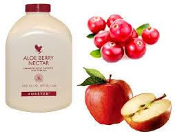 aloe berry nectar contient de la pomme et de la canneberge