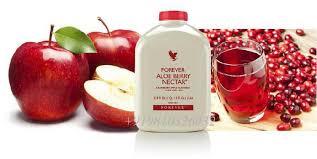 Forever aloe berry nectar contient de la pomme et de la canneberge