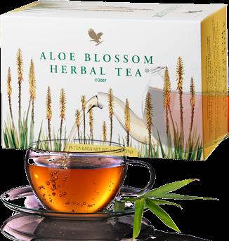 les bienfaits de l' Aloe blossom herbal tea