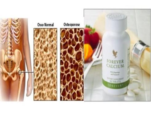 forever calcium et l'ostéoporose