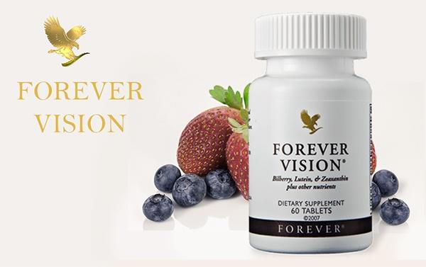 les ingrédients de Forever Vision.