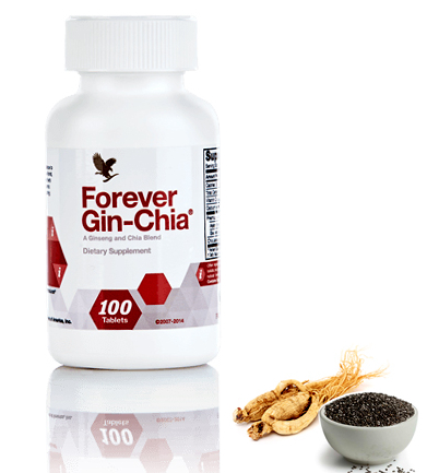 Forever Gin-Chia. – Nutritional Supplement - 100 Tablets